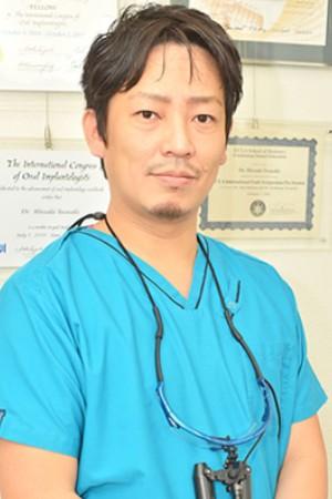 岩崎歯科クリニックの院長の画像