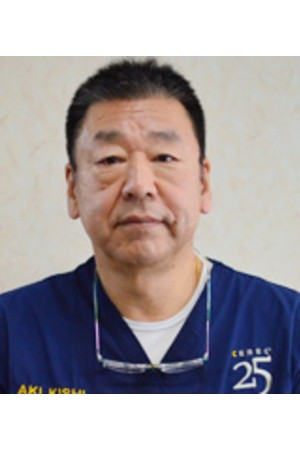 岸歯科診療所の院長の画像