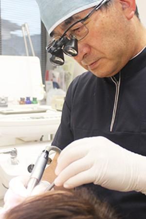 内堀歯科医院の院長の画像