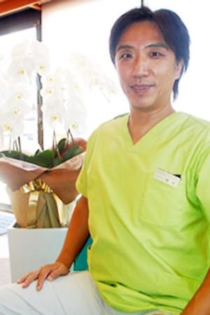 はしもと歯科医院の院長の画像