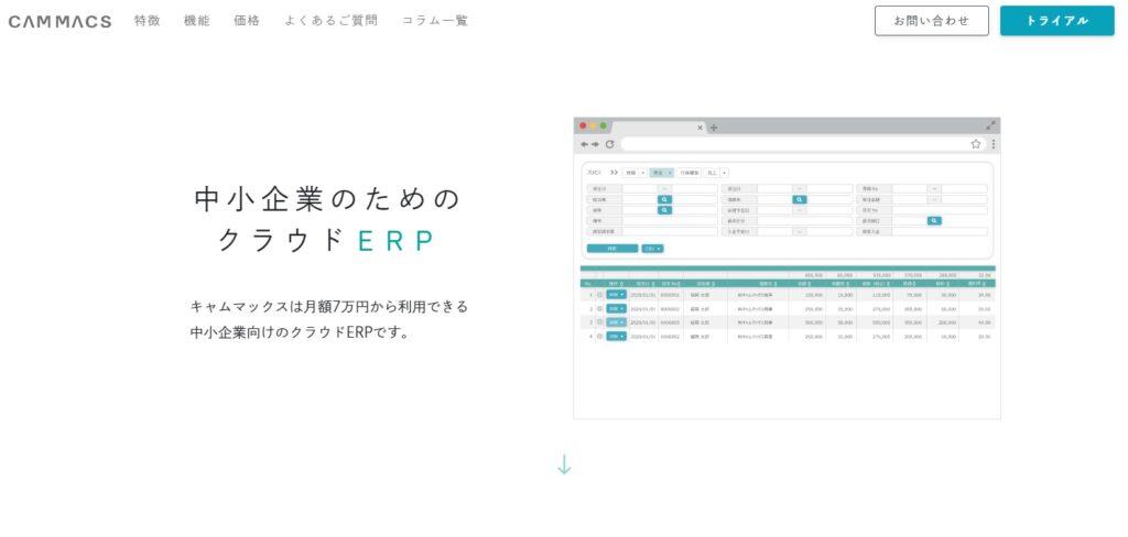 『キャムマックス』が「中小企業向けERP 機能充実度」など3項目で第1位を獲得!